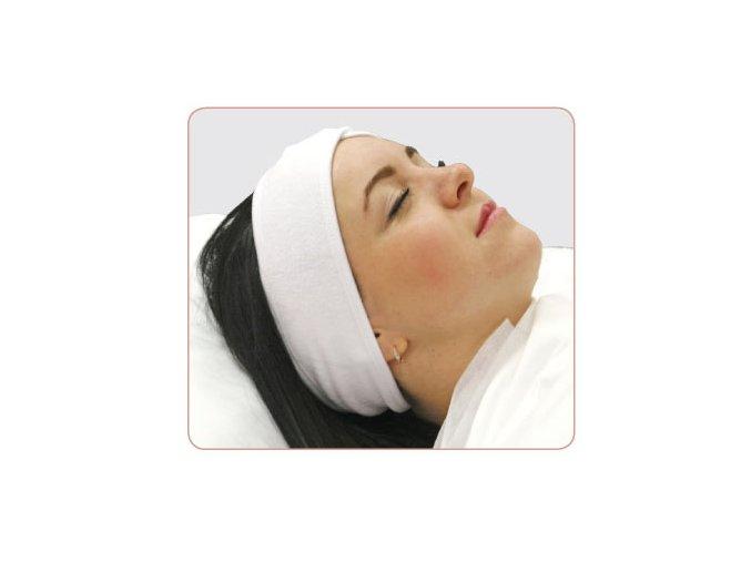 Jednorázová bavlněná kosmetická čelenka Beautyfor® (1 ks)