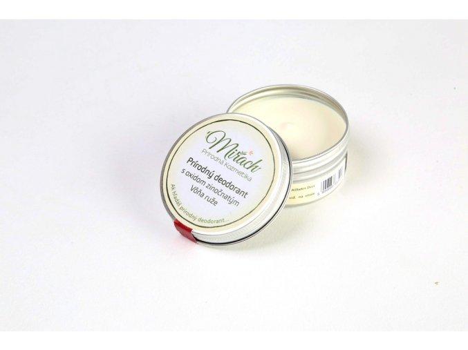 mirach prirodni deodorant s oxidem zinecnatym ruze