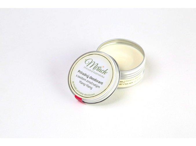 mirach prirodni deodorant s oxidem zinecnatym ylang ylang
