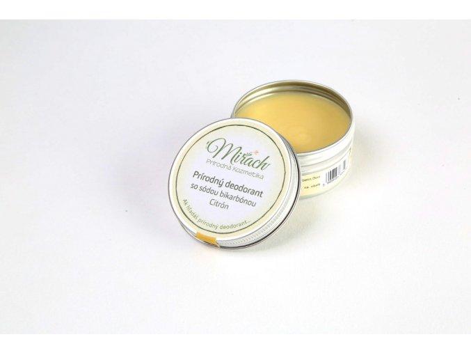 mirach prirodni deodorant se sodou bikarbonou citron