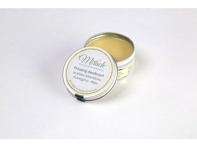 mirach prirodni deodorant se sodou bikarbonou eukalyptus mata