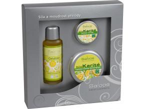 darkova kazeta citrus masazni olej saloos