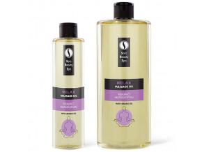 sara beauty spa prirodni rostlinny masazni olej relax