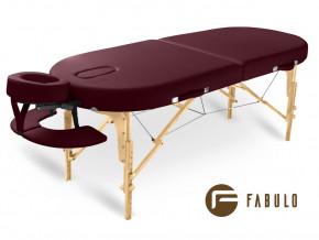 Skladaci masazni stul Fabulo GURU Oval Set