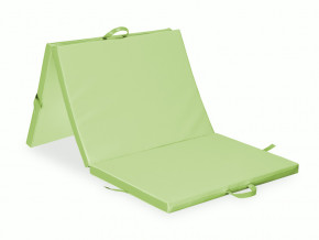 Skladaci matrace HABYS® tridilna (barva tmave hneda (#38) - Vinyl Flex, rozmery 195x85x5cm)