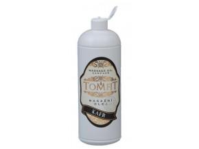 tomfit masazni olej mineralni kafrovy 1000 ml 13 0128