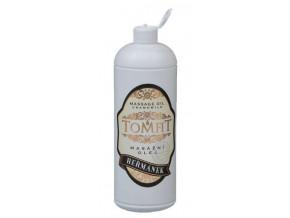 tomfit masazni olej mineralni hermanek 1000 ml 13 0125