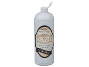 tomfit masazni olej mineralni levandulovy 1000 ml 13 0134