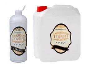 tomfit masazni olej mineralni zakladni 1000 5000 ml 13 0136