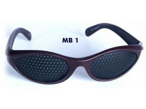 derovane bryle trener oci vision fix hnede original mb1