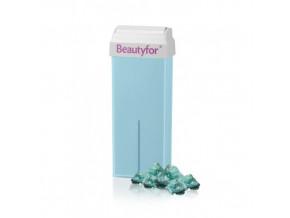 Depilační vosk světlemodrý s mastkem Beautyfor® 100 ml