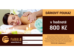 darkovy poukaz fabulo cz 800 kc