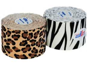 kineziologicky tejp bb tape design leopard zebra