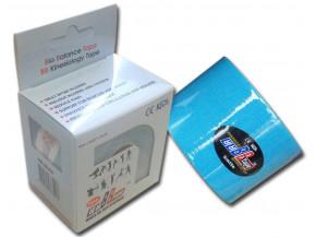 kineziologicky tejp bb tape h2o vodeodolny modry