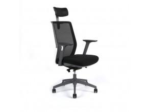 Ergonomická kancelářská židle OfficePro Portia černá
