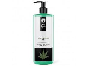 SBS273 masazni gel sara beauty spa kanabis arnika cannabis gel konope cannabis arnica 250ml