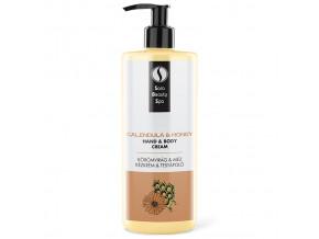 SBS275 masazni krem na nohy a ruce sara beauty spa mesicek med rescue cream calendula honey 250ml
