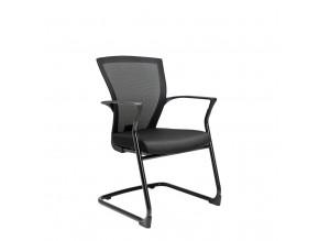 Ergonomická jednací židle OfficePro Merens Meeting černá