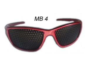 dierkovane okuliare trener oci vision fix cervene mb41