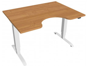 Elektricky výškově stavitelný stůl Hobis Motion Ergo - 3 segmentový, standardní ovladač  Šířka 120-180 cm / 27 barevných variant