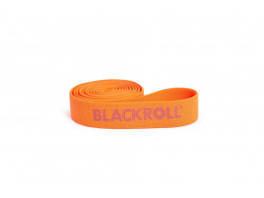fitness guma blackroll super band oranzova lehka zatez