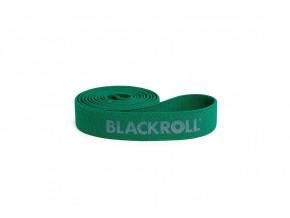fitness guma blackroll super band zelena stredni zatez