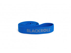 fitness guma blackroll super band modra silna zatez
