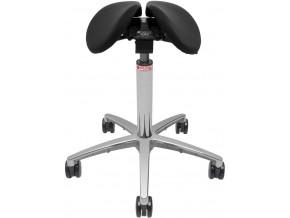 salli ergonomicka sedlova zidle black otv