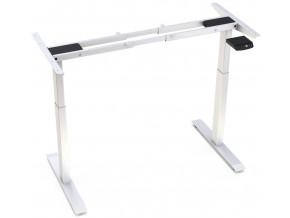 Elektricky vyskove nastavitelna konstrukce stolu Hi5 - 2 segmentova, pametovy ovladac (Barva konstrukce bila)