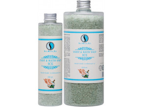 chladiva sul do koupele ice sara beauty spa cooling bath foot salt 1320 g sbs235