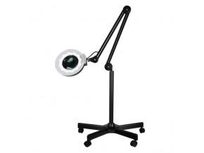 kozmeticka lampa s lupou beautyone s5 led black so stojanem