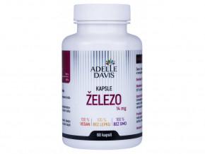 Adelle Davis - Železo, 14 mg
