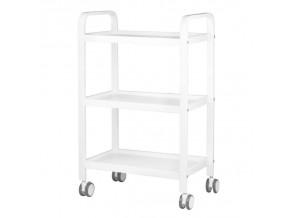 kozmeticky stolek beautyone hs09 metal white