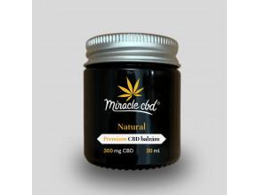 miracle cbd konopny cbd balzam  300 mg
