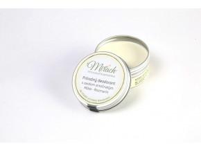 mirach prirodni deodorant s oxidem zinecnatym mata rozmaryn 45ml