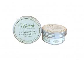 mirach prirodni deodorant s oxidem zinecnatym natur 45ml