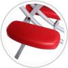 Masazni zidle HABYS® Prestige-Reh (barva tmave hneda (#38) - Vinyl Flex, regulace vysky teleskopicka)