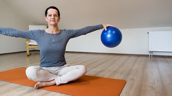 Sissel Pilates soft ball labda stabilitas