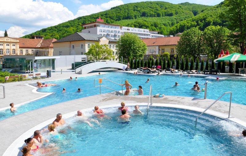 Trencsénteplici fürdő (Trenčianske Teplice) 1