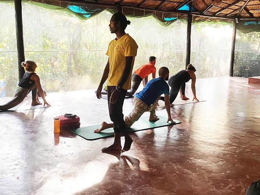 Az iskola jelszava: Yoga beyond Asana, azaz Yoga az ászanákon túl