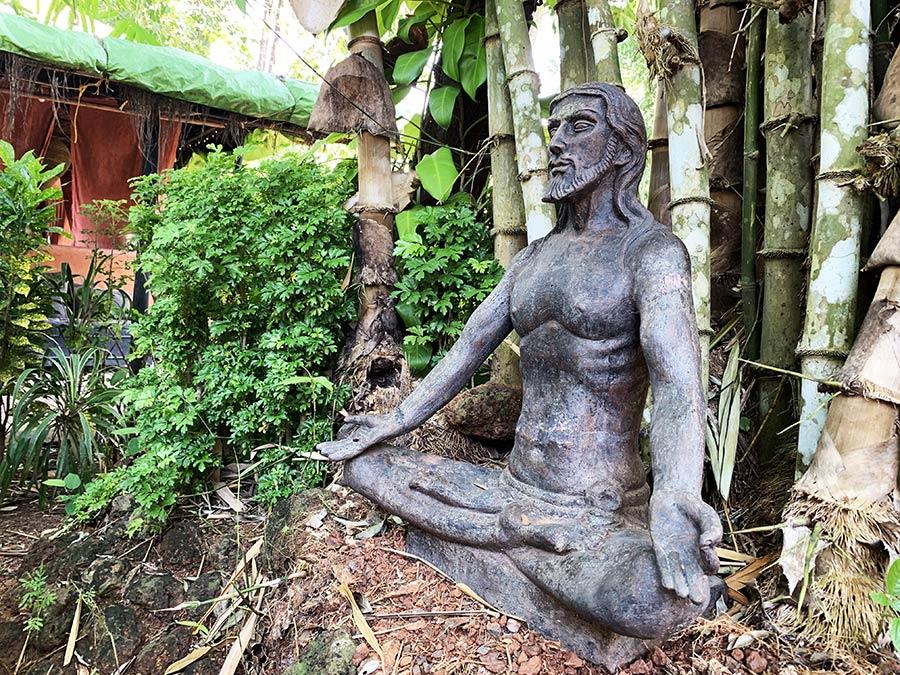 Jóga elvonulás Indiában, a dzsungel mélyén