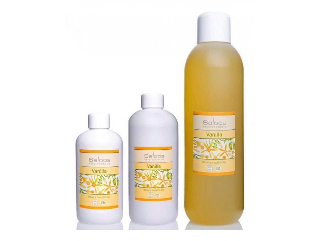 saloos vanilia bio masszázsolaj
