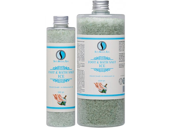 husito labaztato furdoso ice sara beauty spa cooling bath foot salt