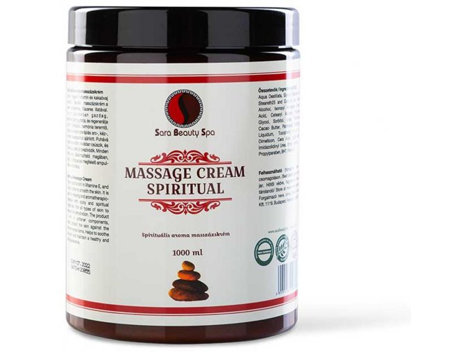 SBS132 masszazs krem arcra es testre spiritual sara beauty spa spiritual massage cream