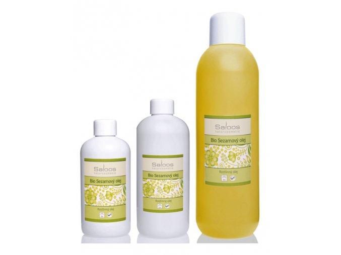 SALOOS szezám olaj - tiszta növényi bio masszázsolaj és testolaj