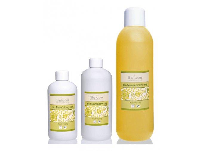 SALOOS napraforgó olaj - tiszta növényi bio masszázsolaj és testolaj