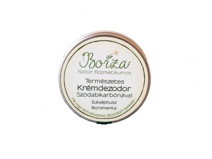 borza termeszetes dezodor szodabikarbonaval eukaliptusz borsmenta