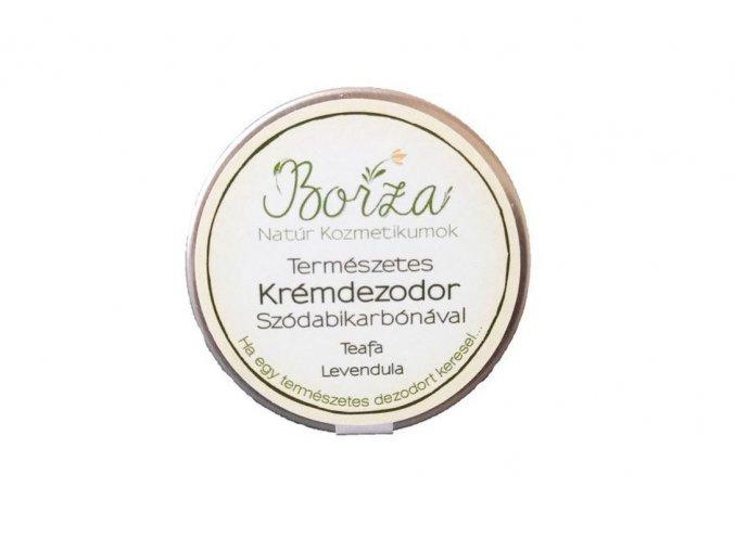 borza termeszetes dezodor szodabikarbonaval teafa levendula