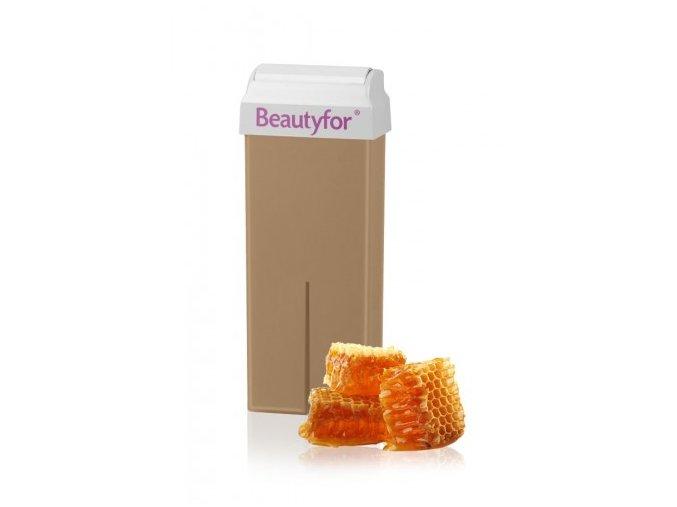 BEAUTYFOR® sárga szőrtelenítő gyanta mézzel 100 ml