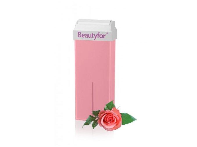 BEAUTYFOR® rózsaszín szőrtelenítő gyanta titán-dioxiddal 100 ml